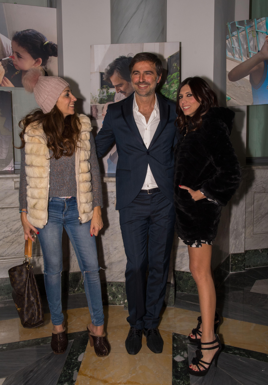 Beppe Convertini con Emanuela Tittocchia e Fanny Cadeo