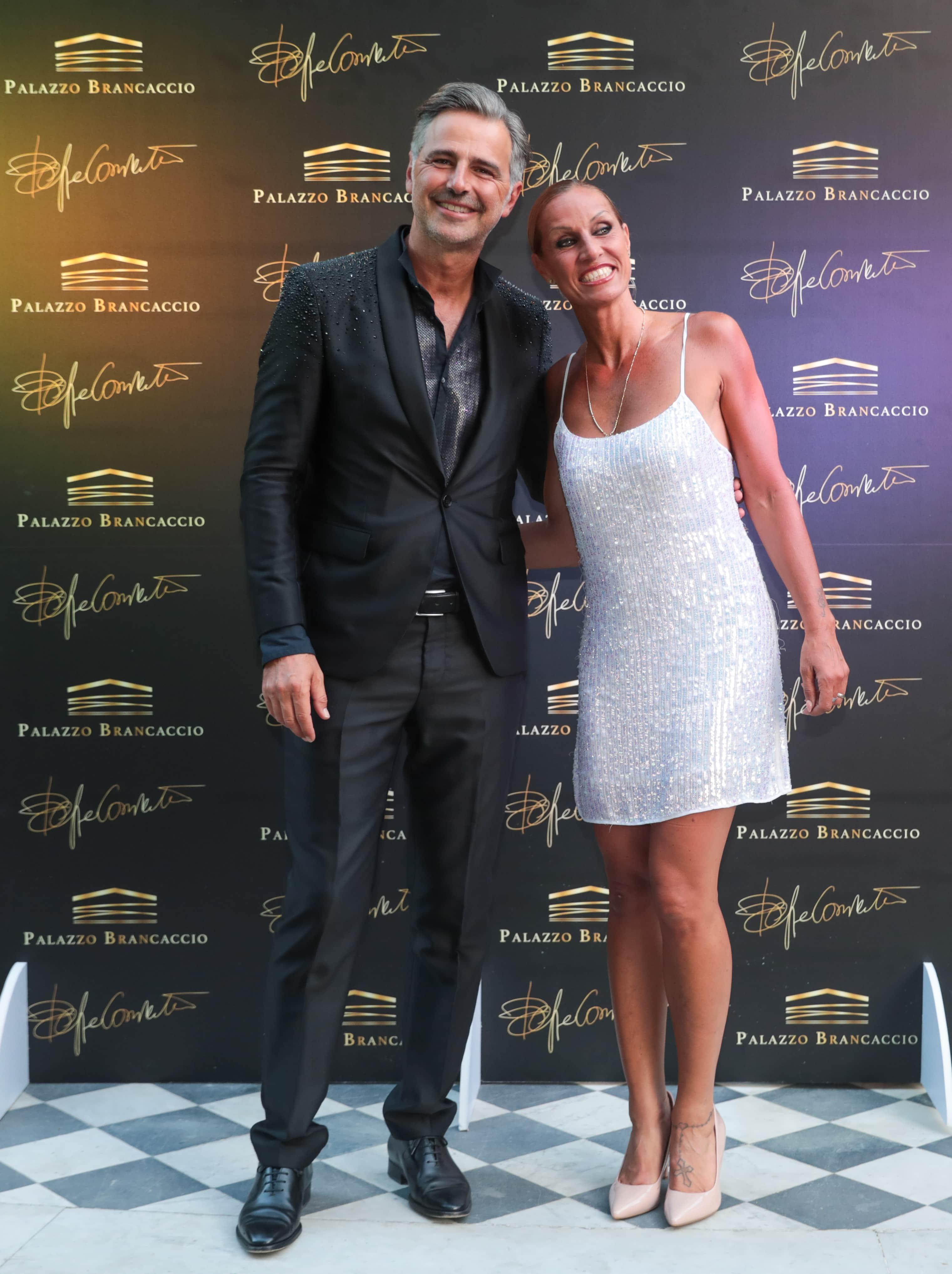 Beppe Convertini e Annalisa Minetti