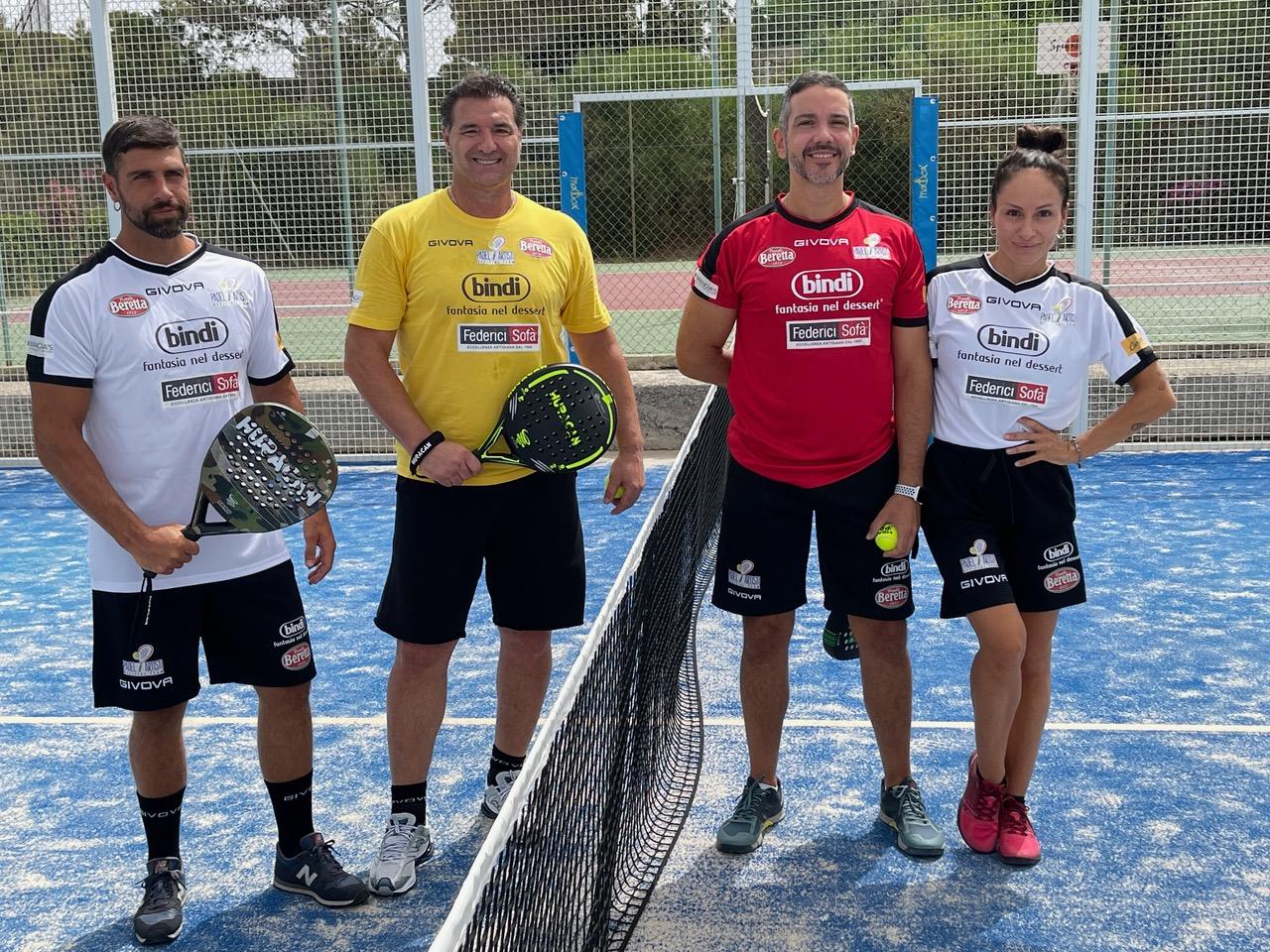 Gilles Rocca, Lorenzo Amoruso, Antonio Mezzancella e Georgia Manci